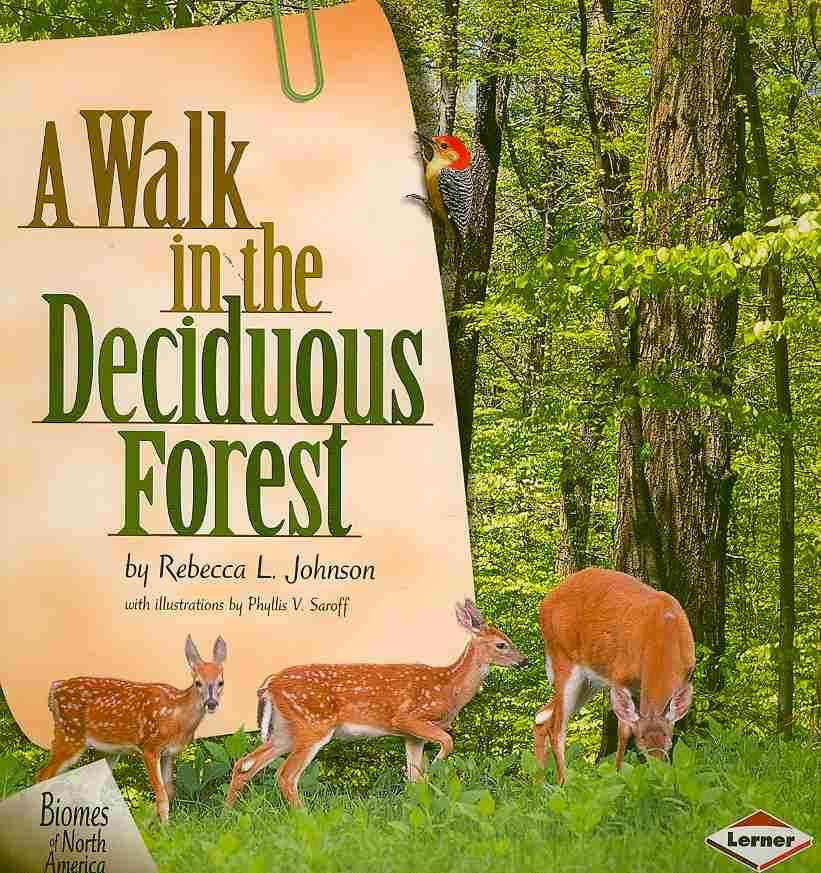 A Walk in the Deciduous Forest By Johnson, Rebecca L./ Saroff, Phyllis V. (ILT)